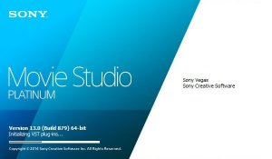 Sony Vegas Movie Studio Platinum 13.0 Build 932 x86 (2014) PC