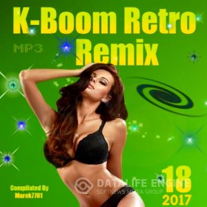 K-Boom Retro Remix 18 (2017) mp3 бесплатно музыка